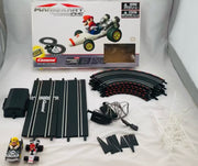 Mario Kart Carrera RC 1:43 Scale Slot Car Race Track Set - Working - Complete
