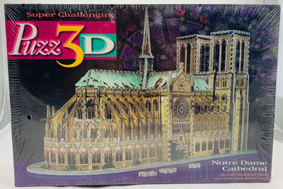 Puzz 3D Notre Dame Cathedral  - 1996 - Wrebbit - New