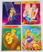 Frame Tray Puzzles - 1990's - Disney - Very Good Condition