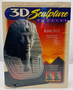 3D Sculpture Puzzles King Tut  - 1996 - Milton Bradley - New