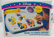 Mickey Mouse Music 'N Lights Parade Busy Box Crib Toy - 1992 - Mattel - Great Condition