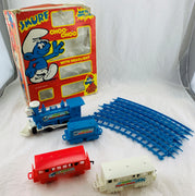 Smurfs Choo Choo Train - 1981 - Working - Good Condition