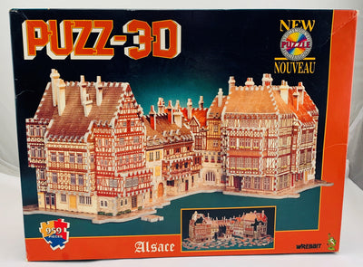Puzz 3D Alsace  - 1995 - Wrebbit - New