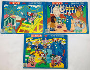 Bozo Puzzles - 1989 - Jaymar - Great Condition