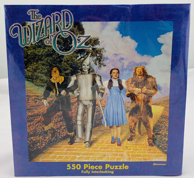 Wizard Of Oz 550 Piece Puzzle  - Pressman - New