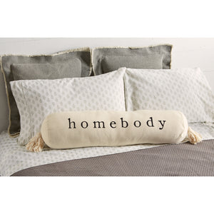 Homebody Bolster Pillow