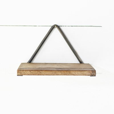 Single Triangle Tin Shelf