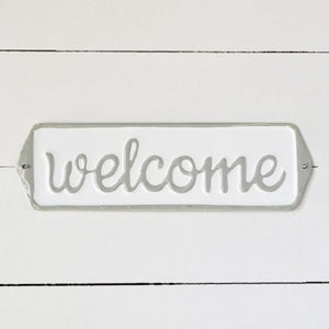 Welcome Grey Street Sign