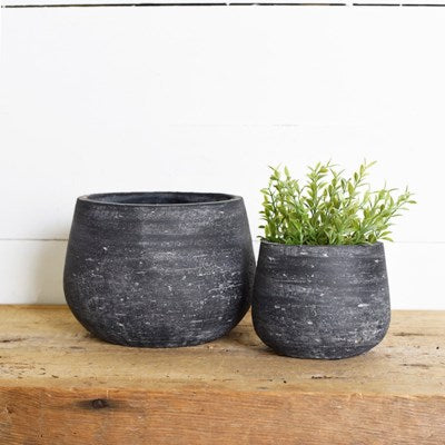Black Grain Planter