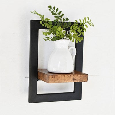 Black Framed Shelf