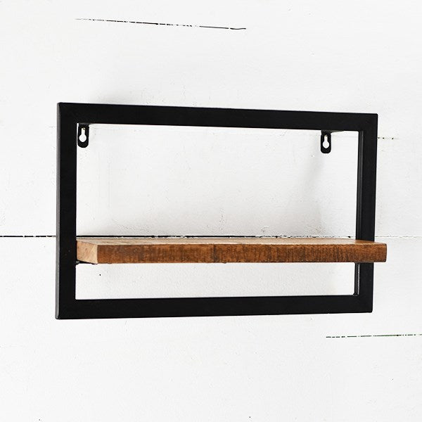 Black Frame Modern Shelf