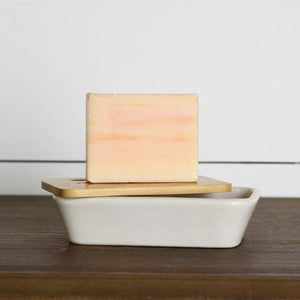 White Soap Dish