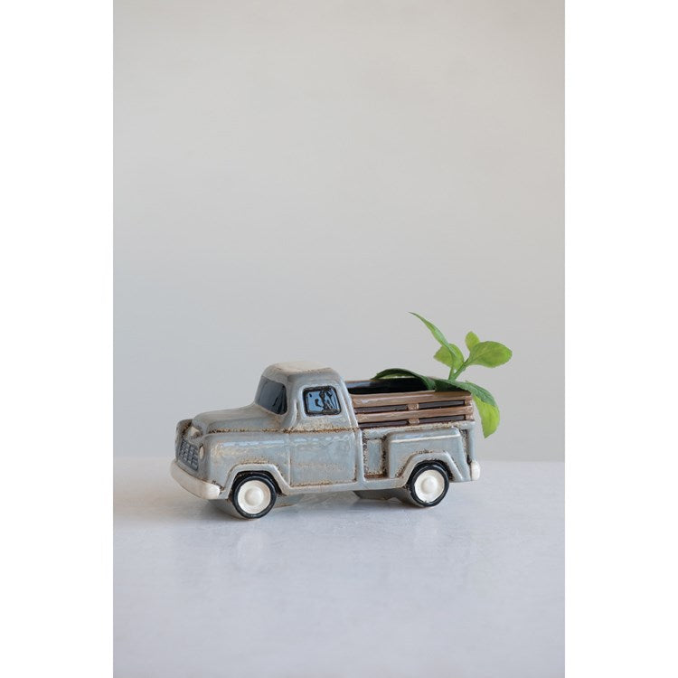 Stoneware Truck Container
