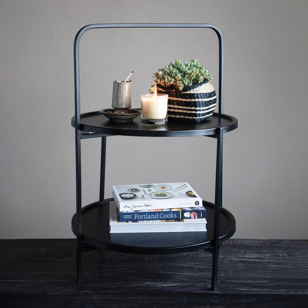 Metal 2-Tier Tray