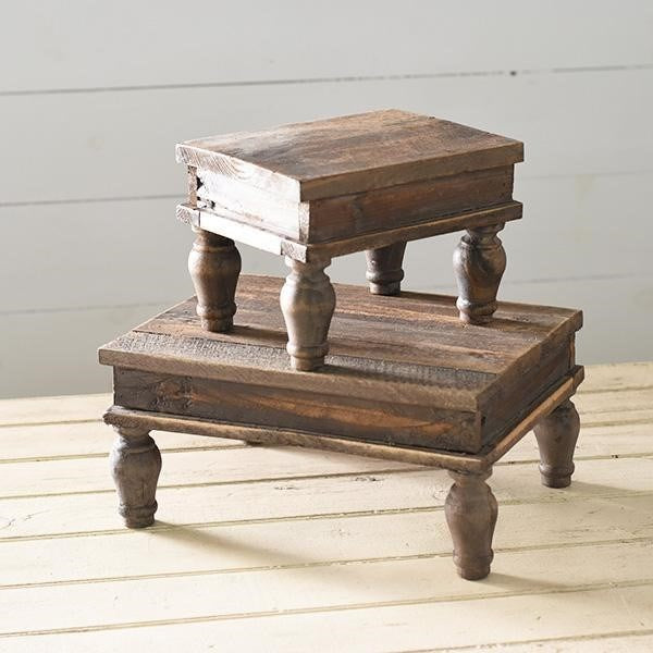 Reclaimed Wood Stand