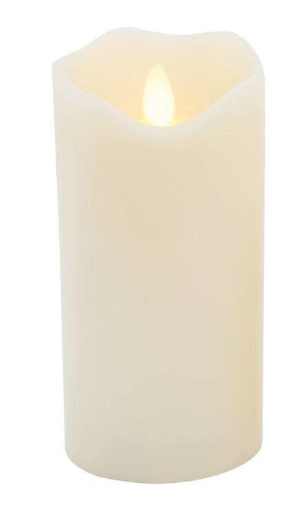 Flameless LED Wax Pillar Candle