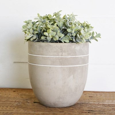 Grey Egg Planter