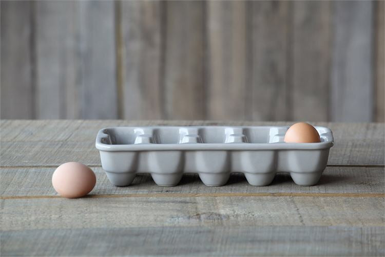 Grey Egg Holder