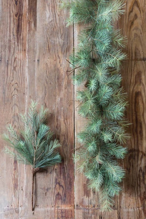 Pine Garland from The Feathered Farmhouse