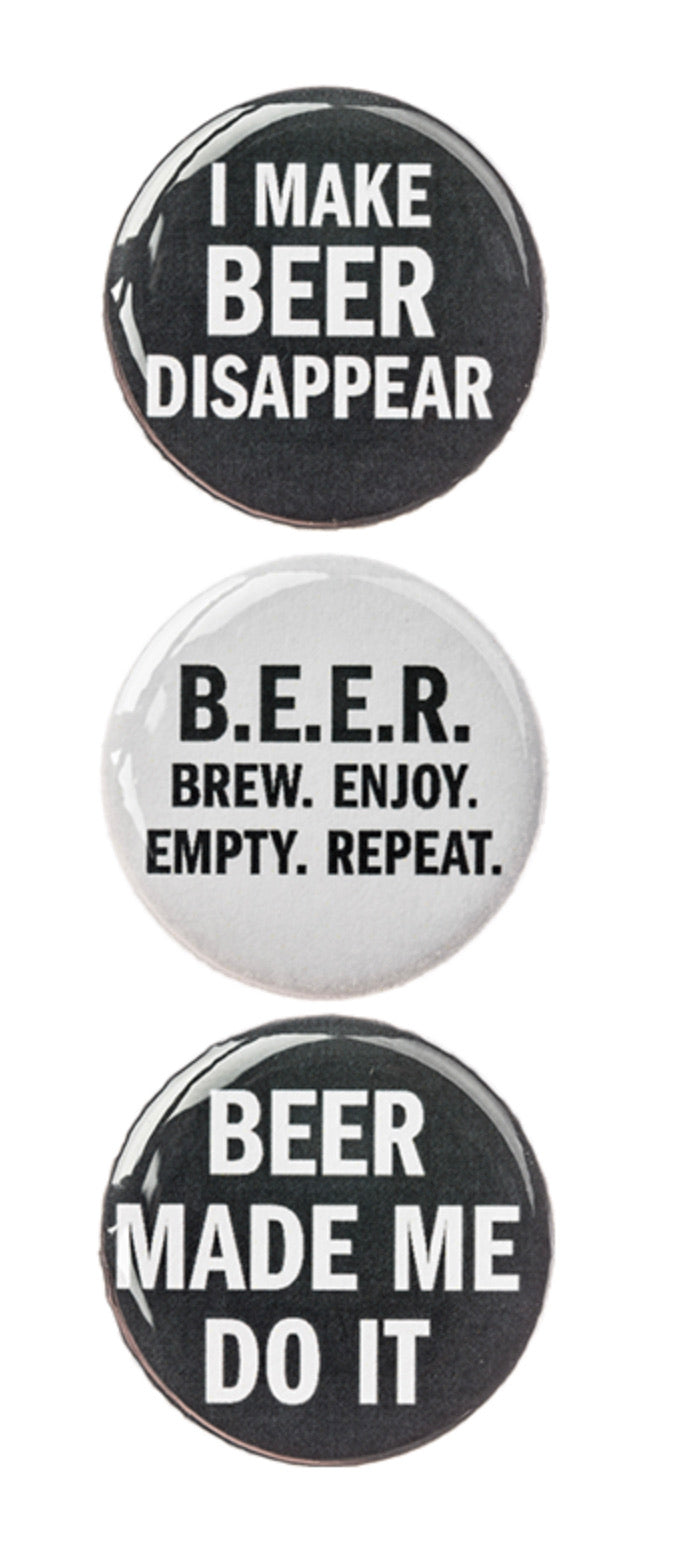 Beer Magnet Set