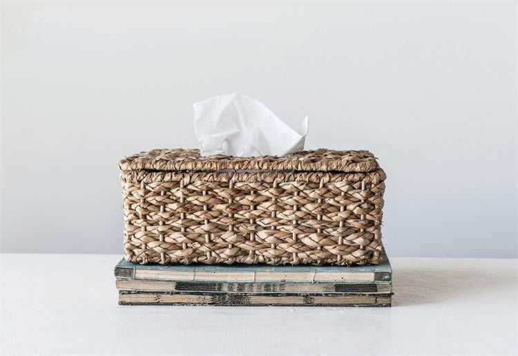 Wicker Tissue Holder