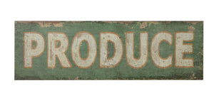 Large Produce Sign