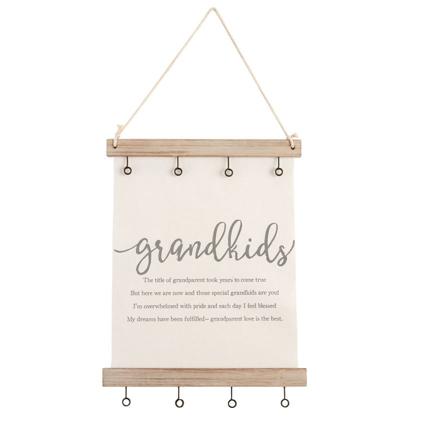 Grandparent Canvas Photo Holder