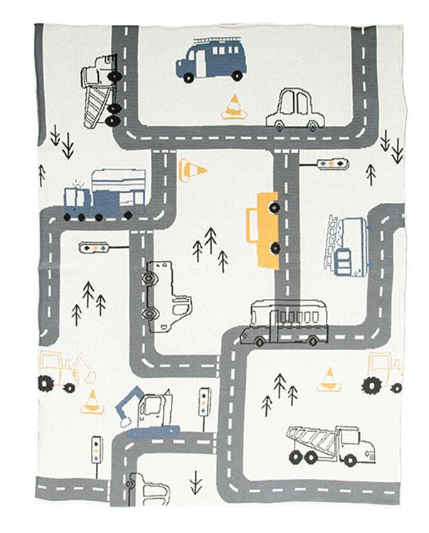Vehicle Baby Blanket