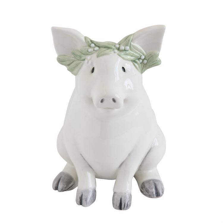Boho Piggy Bank by The Feathered Farmhouse