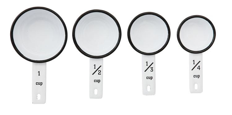 Enamel Measuring Cups
