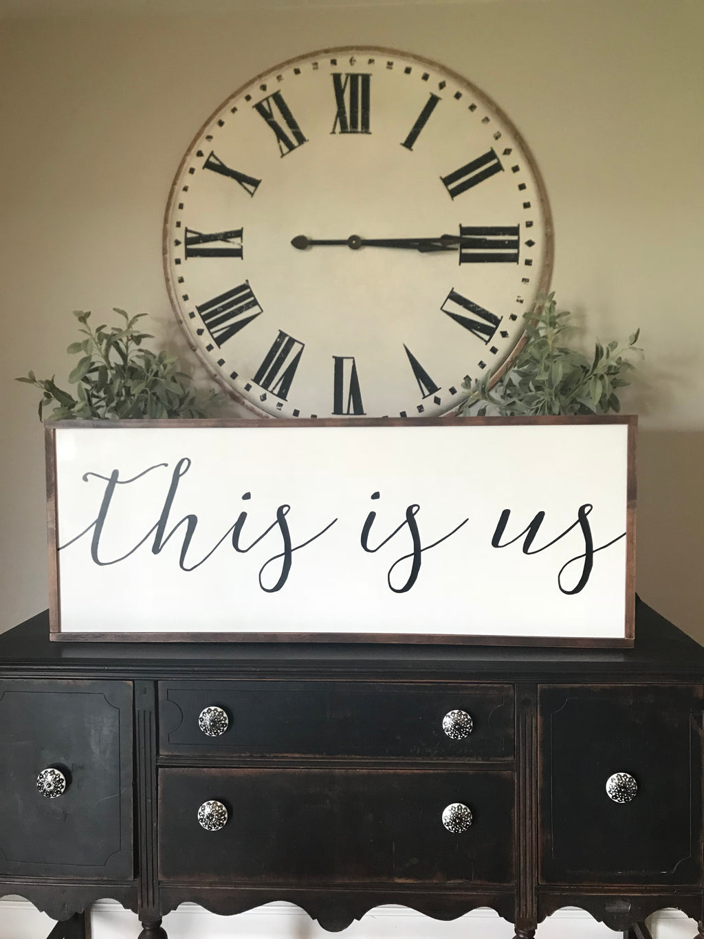 This is Us Large Sign