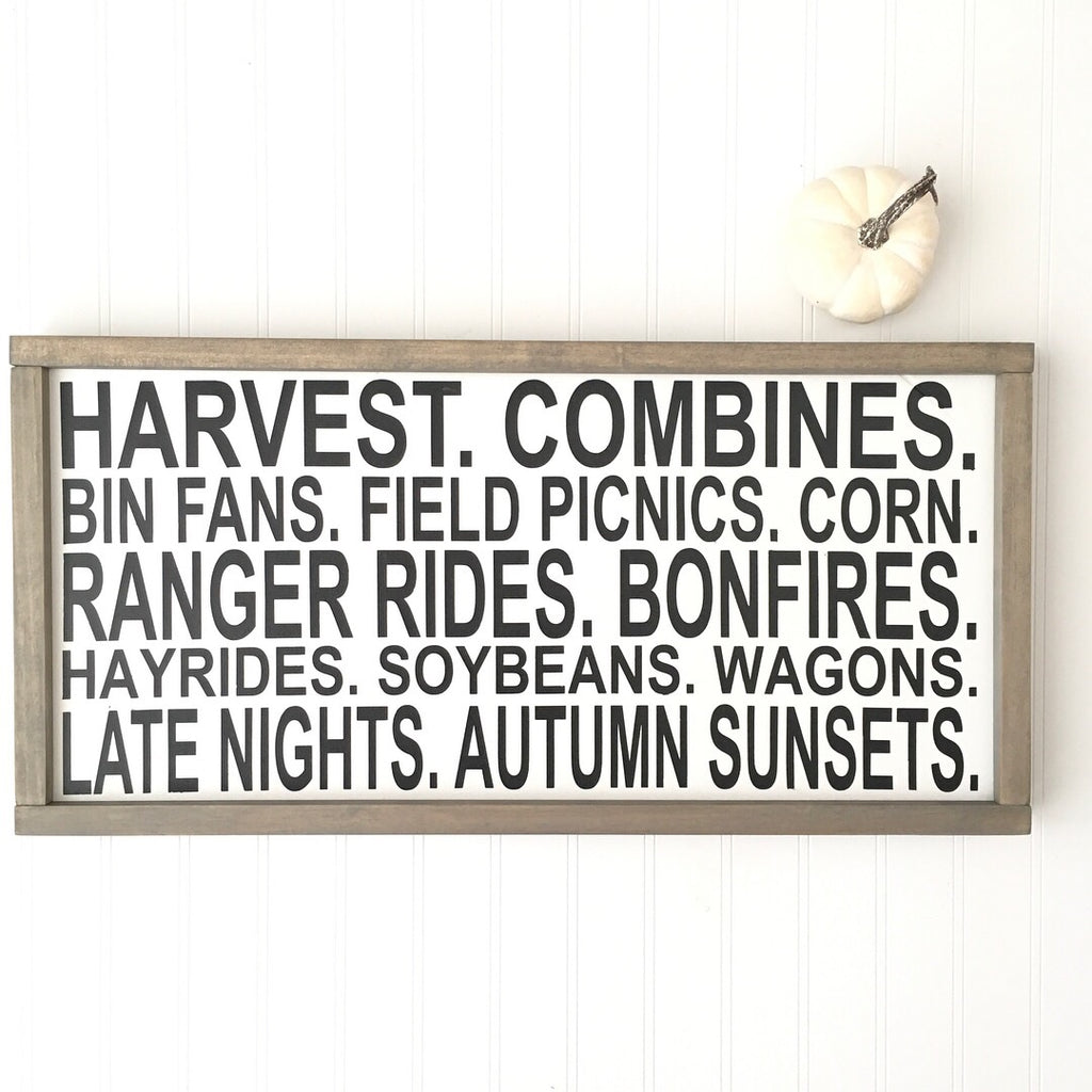 Fall Farming Sign