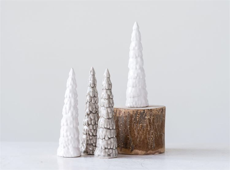 Stoneware Crackle Tree