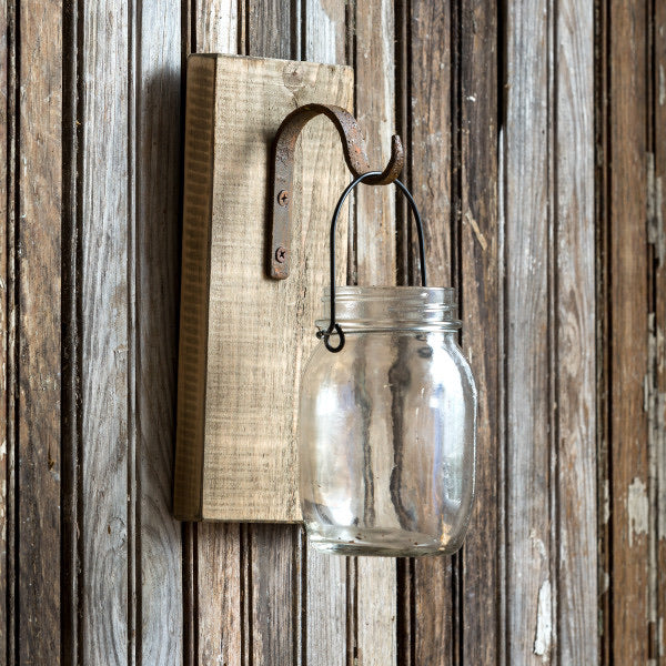 Hanging Canning Jar Vase