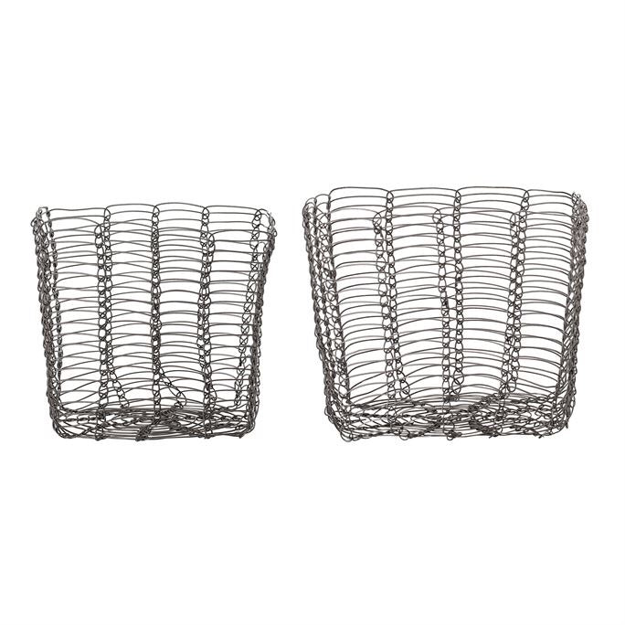 Black Wire Baskets