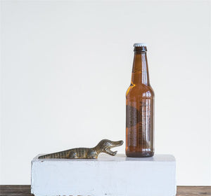 Alligator Bottle Opener by The Feathered Farmhouse