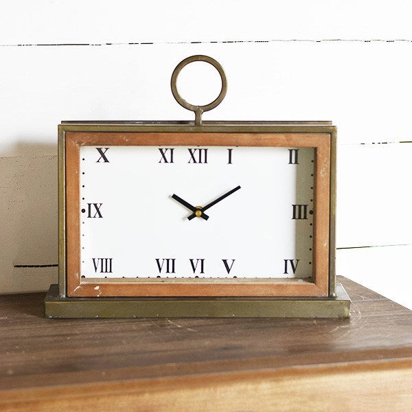 Rectangular Retro Clock