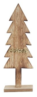 Gold Stripe Wood Tree