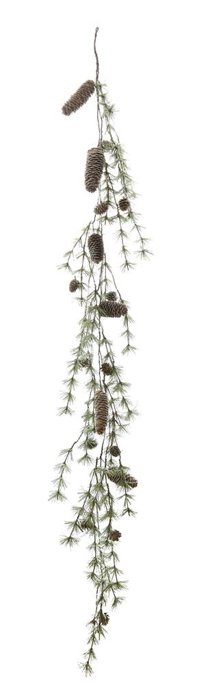 Pine Garland with Pinecones
