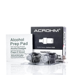 Acrohm Fush Nano - Replacement Pods (2 Pack)