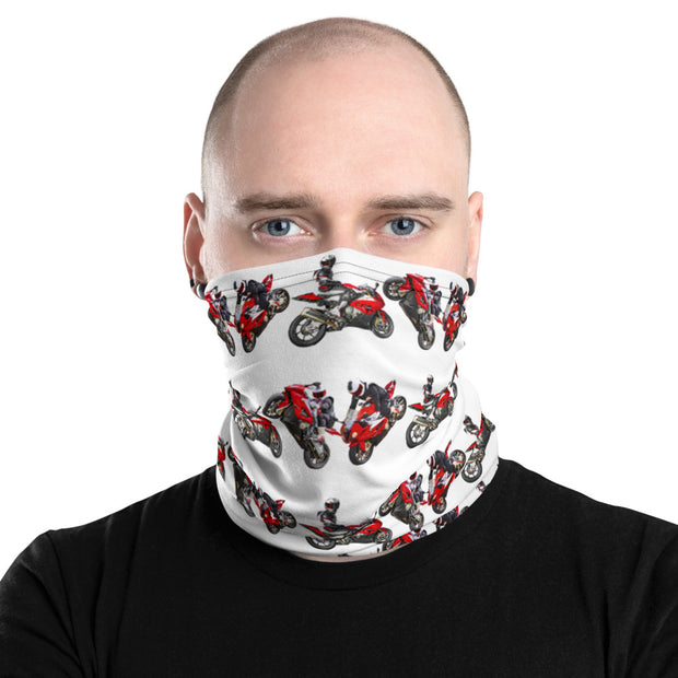 MAXWRIST Triple on white - Neck Gaiter