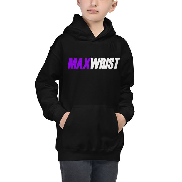 CLAY's PURPLE FULL POWER YOUTH Hoodie
