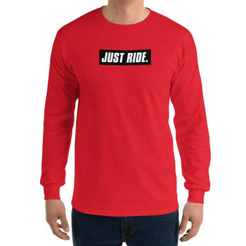 JUST RIDE. LONG SLEEVE - MaxWrist