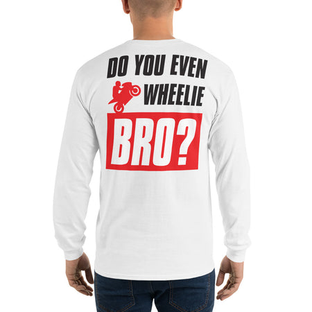 WHEELIE BRO LONG SLEEVE - MaxWrist
