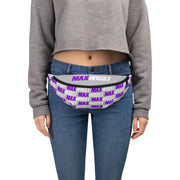MW PINK💕 NEW! PURPLE and WHITE on GREY MAXWRIST Fanny Pack