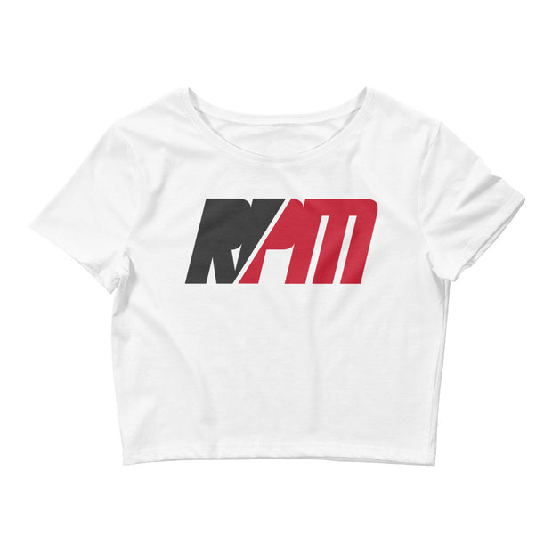 WOMENS RPM WHITE CROP TOP - MaxWrist