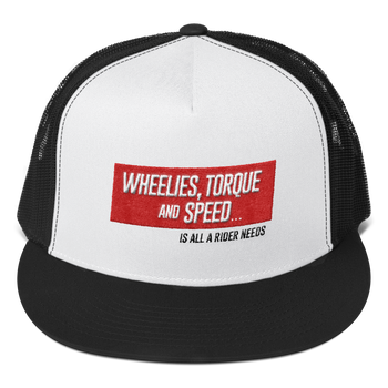 WHEELIES TRUCKER CAP