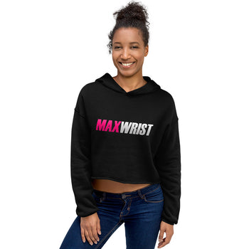 MW PINK💕 - FULL POWER Crop Hoodie
