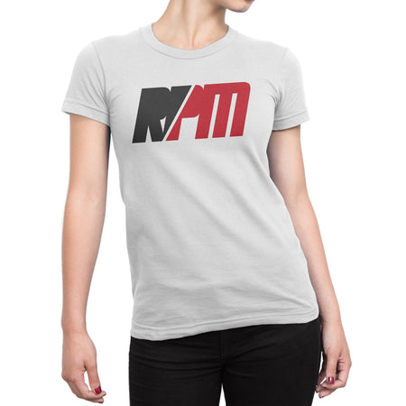WOMENS RPM WHITE SHIRT - MaxWrist
