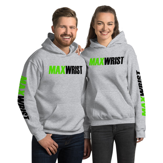 LSPOWER& MAMMA Inspired Flor Green FULL POWER MAXWRIST Unisex Hoodie
